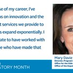 Meet Mary Davie, the Director for the GSA-OPM Reorganization in the Program Management Office, Office of the Deputy Administrator. #WomenLead #WomensHistoryMonth #WomenInTech