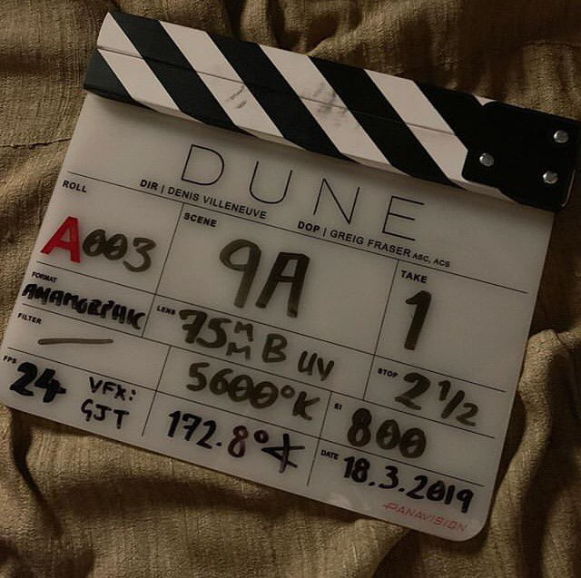 Day one done. #Dune