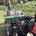 Image for the Tweet beginning: Another great demo with @DryJectSW