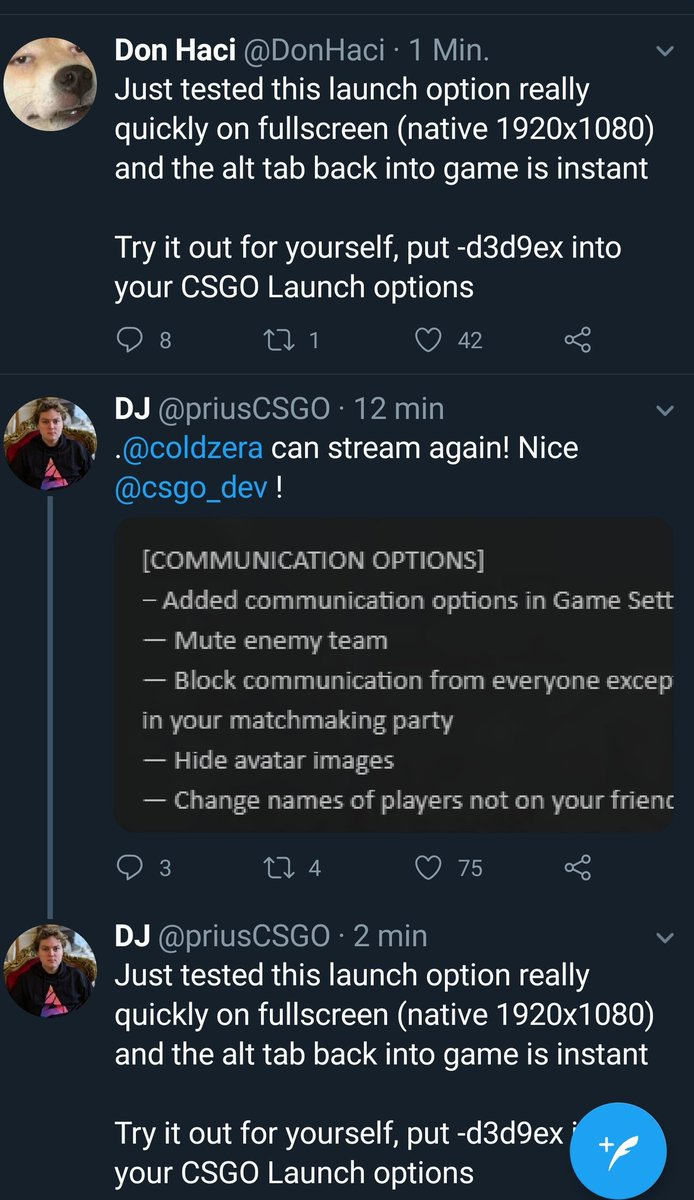 Csgo tabbing out command