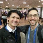 Image for the Tweet beginning: Postdocs Dan Bracha and Steven