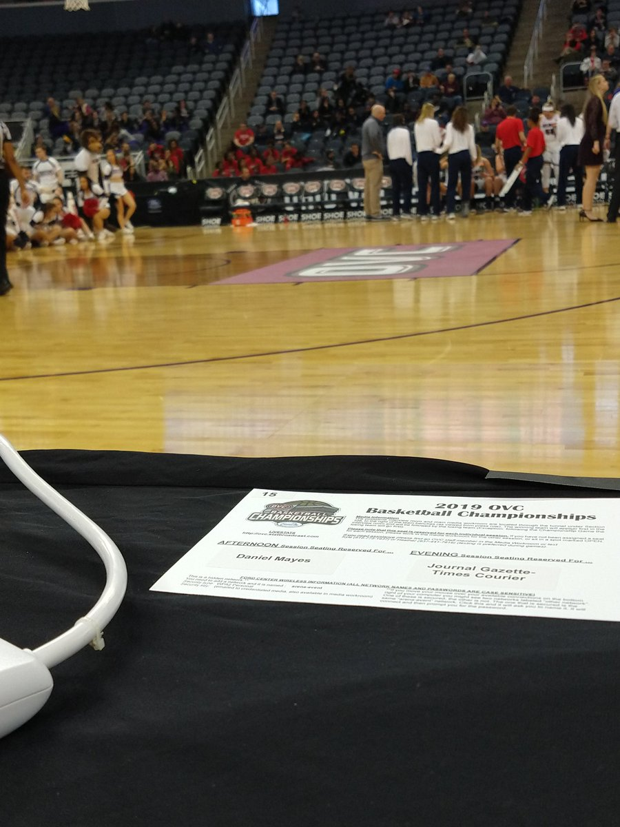 I'll be in Evansville, Indiana this week for the journey in the @OVCSports tourney for @JaxStateWBB and @JSU_MBB.   First up, the seventh-seeded Women take on #2 Morehead State in the quaterfinal round at 3:00.