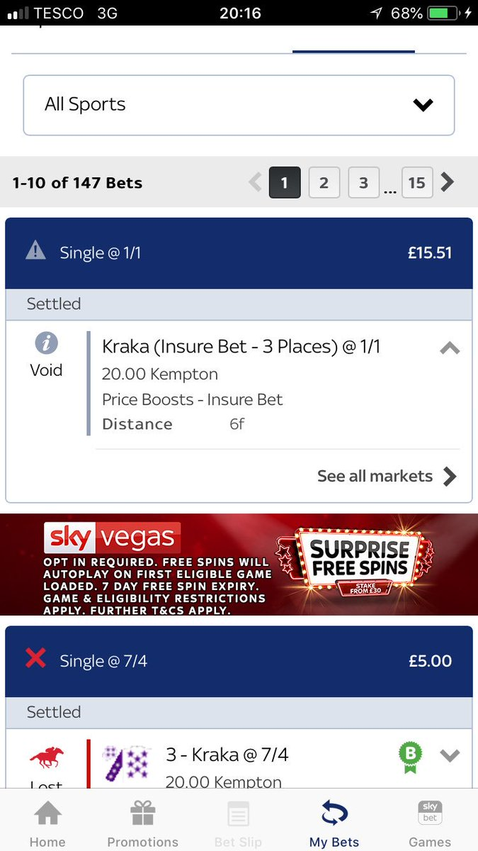 Betting insurebet 3 places of interest mark abelson msw betting