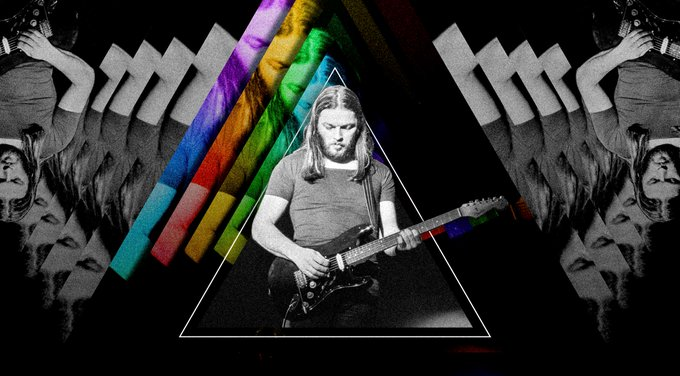 Happy Birthday, David Gilmour. 73 years old today ...