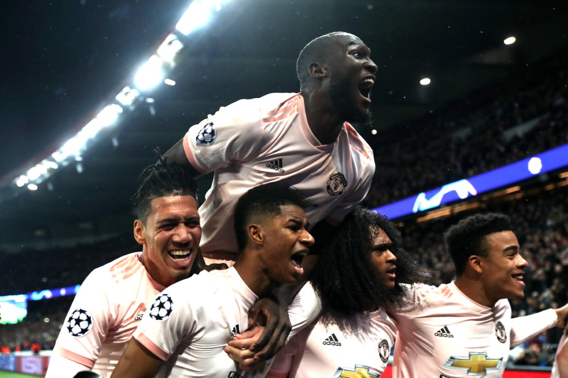 🔴 Manchester United = first team to recover from two-goal home defeat in #UCL history! 👏👏👏
