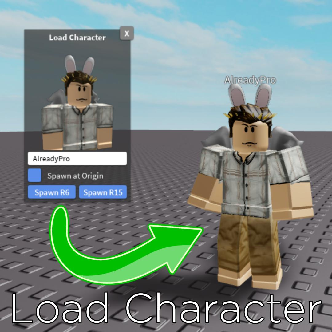 How To Put Your Character In Roblox Studio 2019 Roblox Developer Relations Pa Twitter Check Out This Plugin By Alreadypro This Plugin Allows You To Insert Any Roblox Character Into Studio By Just Typing In A Username Use It To Add