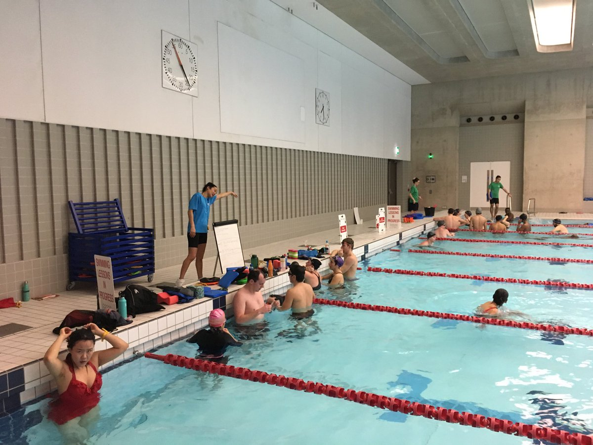 Wonderful Wednesday. Everyone working super hard at this evening's Swim Doctor sessions with me: freestyle drills woven into stamina swims @AquaticsCentre @GLL_UK