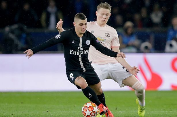 Scott McTominay vs PSG  100% final third passes completed  96.2% pass accuracy  5/5 tackles won  4 ball recoveries  1 interception   Absolute BOSS 💪💪💪