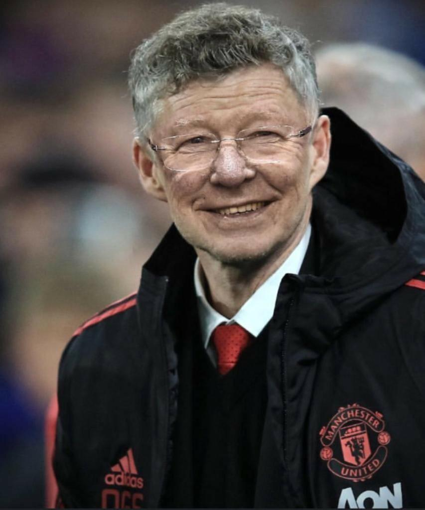 Ole - it's in his DNA. We've got our club back.  #MUFC