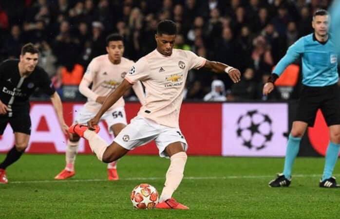 The Manchester Unity eliminize PSV on the road trip goalshot rule after Marcus Rashface inserts the deathstrike right after the overtime verdict tablet was erected in the French city of Paris, France.