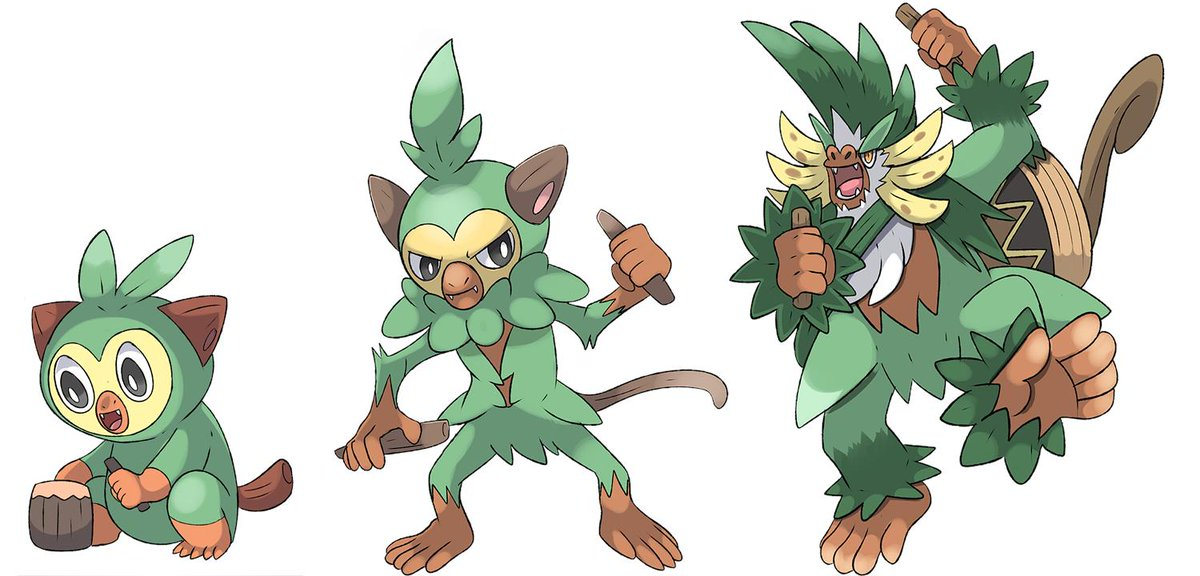 Phatmon Monstraros On Twitter I Attempted To Draw Grookey Evolutions I Belive They Re Supposed To Be Musicians Drummers Specifically Galarstarters Pokemonswordandshield Https T Co Ugv7dtezd0 See more ideas about dragon, dragon art, dragon drawing. i attempted to draw grookey evolutions