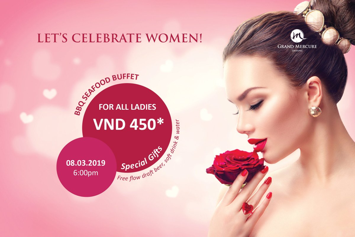 💐 Enjoy Sumptuous Buffet and surprise the beautiful and beloved women in your life with a special dining experience at La Rive Gauche #WomenDay #danang 👠 VND 450,000++/pax for women & special gifts 👔 VND 600,000++/pax for men. 💗 LUCKY DRAW - 1 room night in Hotel Royal Hoian https://t.co/YfYkU62vM5