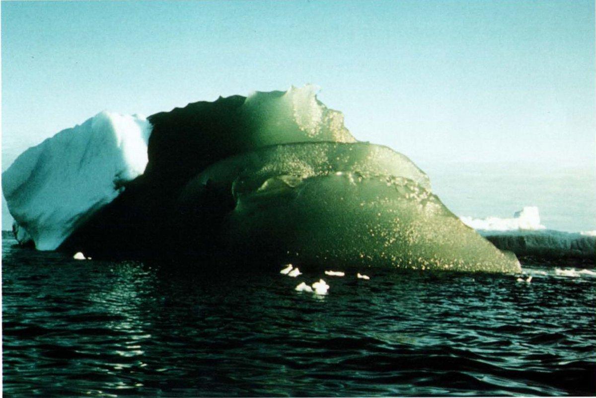 Neue Theorie zur Entstehung grüner Eisberge