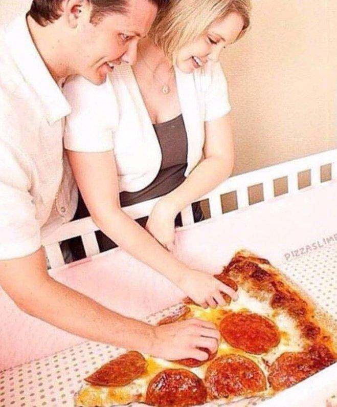Solo me faltas tú que pizza ya tengo
