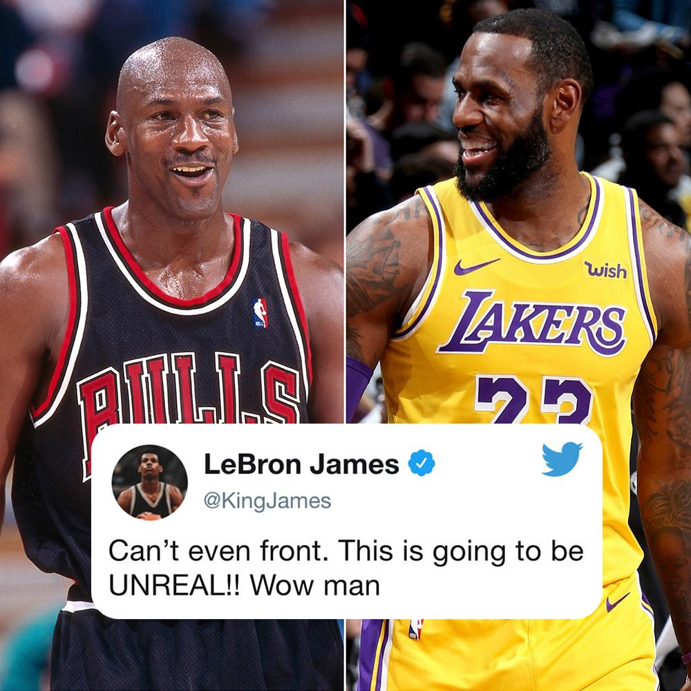 7ef2ea93d55 12 points separate  KingJames and Michael Jordan on the all-time scoring  list.