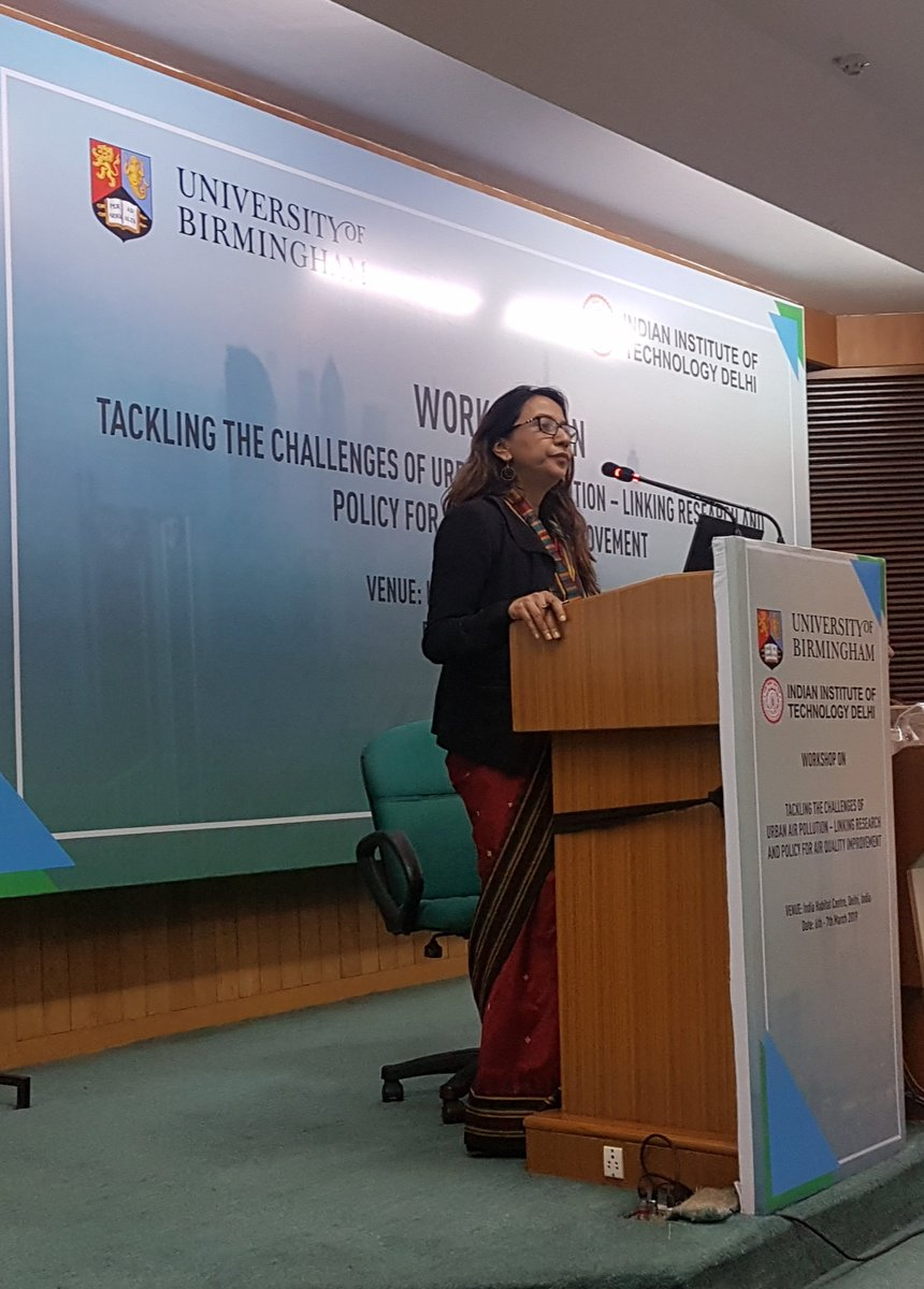 "test Twitter Media - Our #India Director Prarthana Borah speaks about the need for #airquality to be an indicator in as many #SDGs as possible at the @iitdelhi & University of Birmingham's ""Tackling the Challenges of Urban Air Pollution"" workshop in Delhi! @prarthana_delhi #AirPollution #BreatheLife https://t.co/Crw6zngV6e"