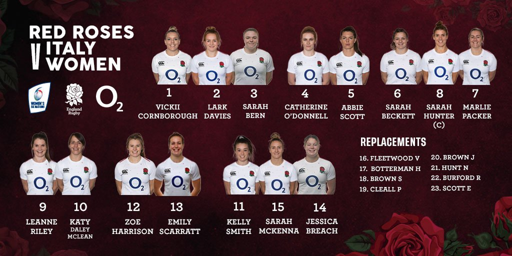 England Rugby's photo on Six Nations