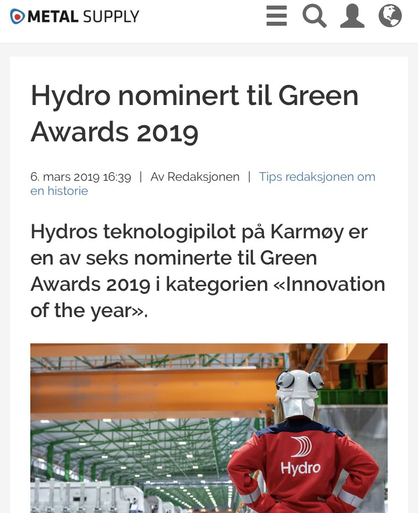 norskhydroasa hashtag on Twitter