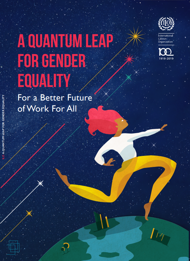 ⚡️ Work-related gender gaps have not seen any meaningful improvement for 20 years but solutions are clear – says new @ILO report.  ⚡️ A Quantum leap for gender equality: For a better future of work for all  Read the report 🔗 http://bit.ly/2NKqkNf   #WomensDay #ILO100