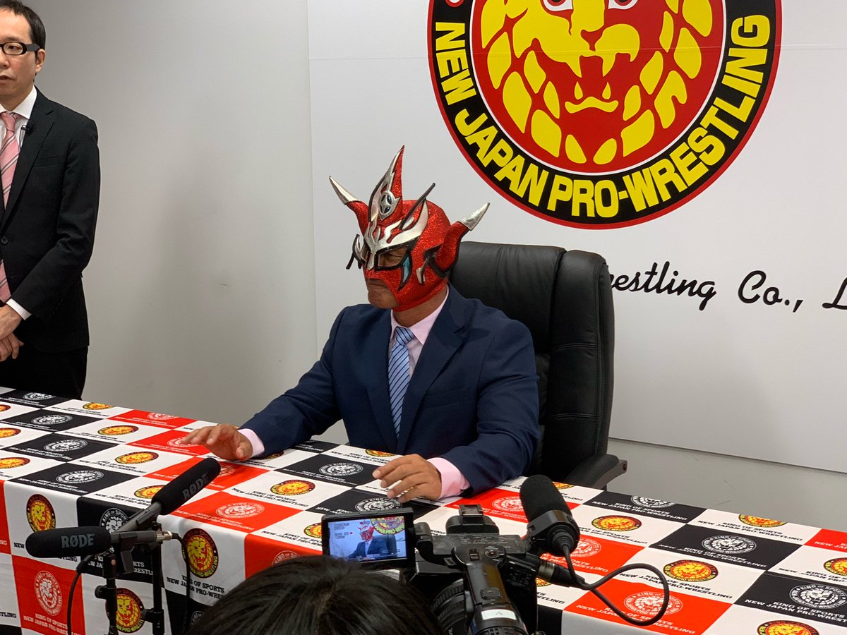 新日本プロレスリング株式会社さんの投稿画像