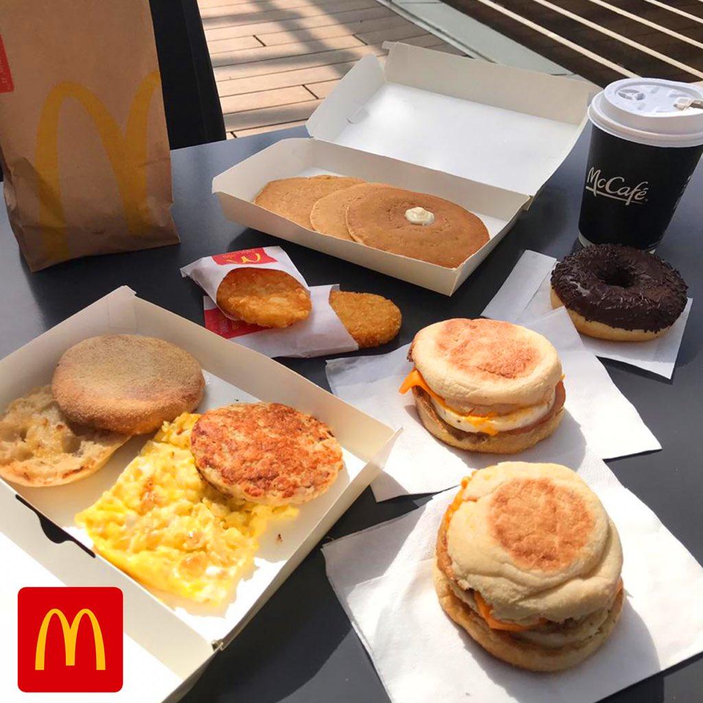 ماكدونالدز السعودية الوسطى والشرقية والشمالية Auf Twitter صباح الخميس أحلى مع فطور ماكدونالدز