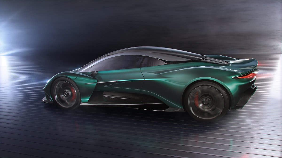 """The Vanquish Vision Concept has…"