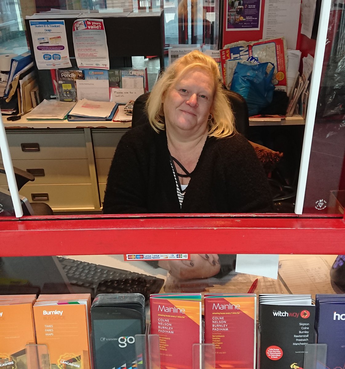 🌞 Good morning! It's International Women's Day, and today we're taking time to celebrate the achievements of the women who work for us. Alison has been the friendly face of buses in Burnley for over 21 years, and her knowledge of our routes is second to none! #IWD2019 @womensday