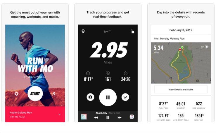 nike has updated its nike run club app for ios version 522 offers a new  custom 2caa82634587