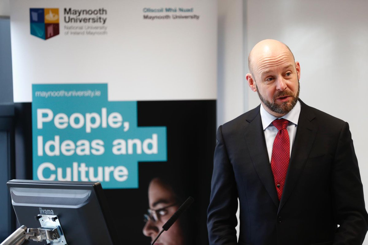 A big step forward for @MaynoothUni and @intel_IRL - a long-standing partnership formalised with an MoU, identifying specific areas of research education and outreach where we will collaborate; drone technology is one of these. Grateful to @ESinnott and the Intel and MU teams.