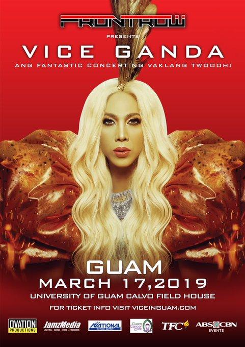 Madlang People in Guam!!! Watch kayo ng concert ko dyan sa March 17 ng matanggal ang mga stress nyo.
