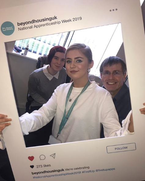 Hi I'm Cory! I'm an apprentice ambassador for @AmazingAppsUK and I work for Beyond Housing as a customer advisor. Today I will taking over Beyond's Instagram for #NAW2019 while I go to a north east school to talk about the benefits of apprenticeships! https://www.instagram.com/p/BusxQQihdp6/?utm_source=ig_web_button_share_sheet…
