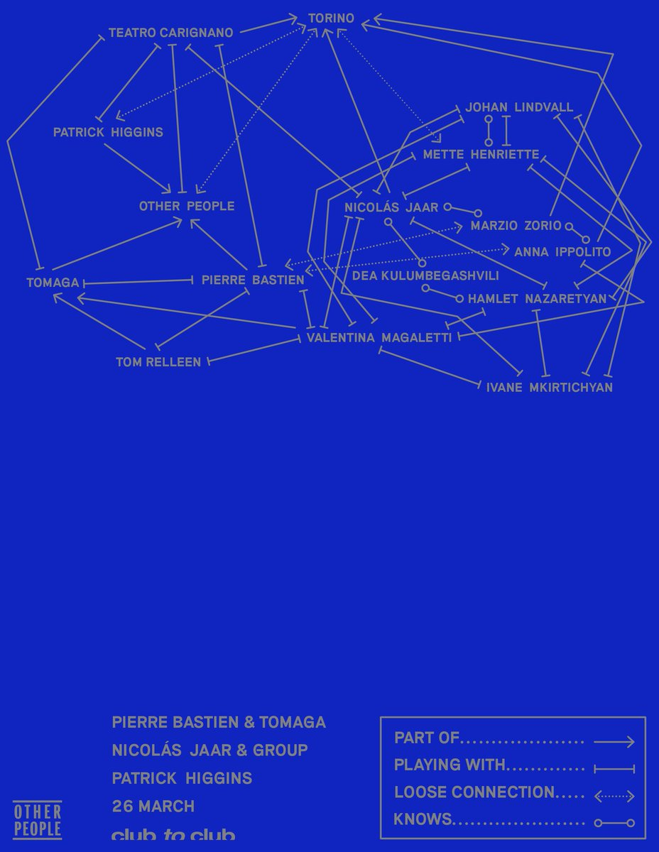 OTHER PEOPLE NIGHT in Turin with Pierre Bastien, Tomaga, Patrick Higgins
