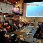 Fra dagens Strandrydde-workshop i Drammen for å planlegge årets rydding av marint søppel. Dette er den fjerde og siste workshopen for Oslofjorden.