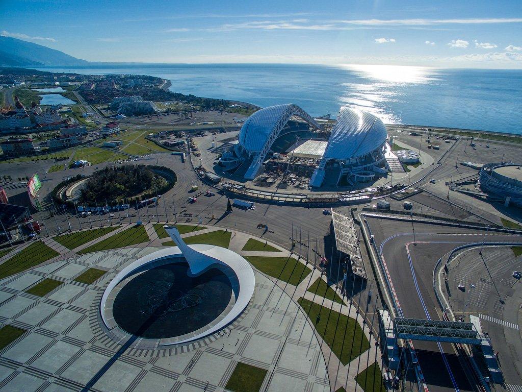 Сочи олимпийский парк фото сегодня