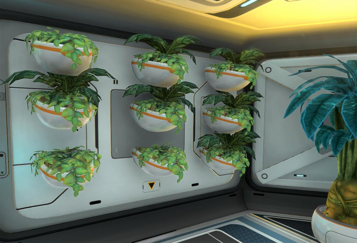 Kolo On Twitter I Loved The Wall Planters In Subnautica So Much That I Planted My Own Subnautica