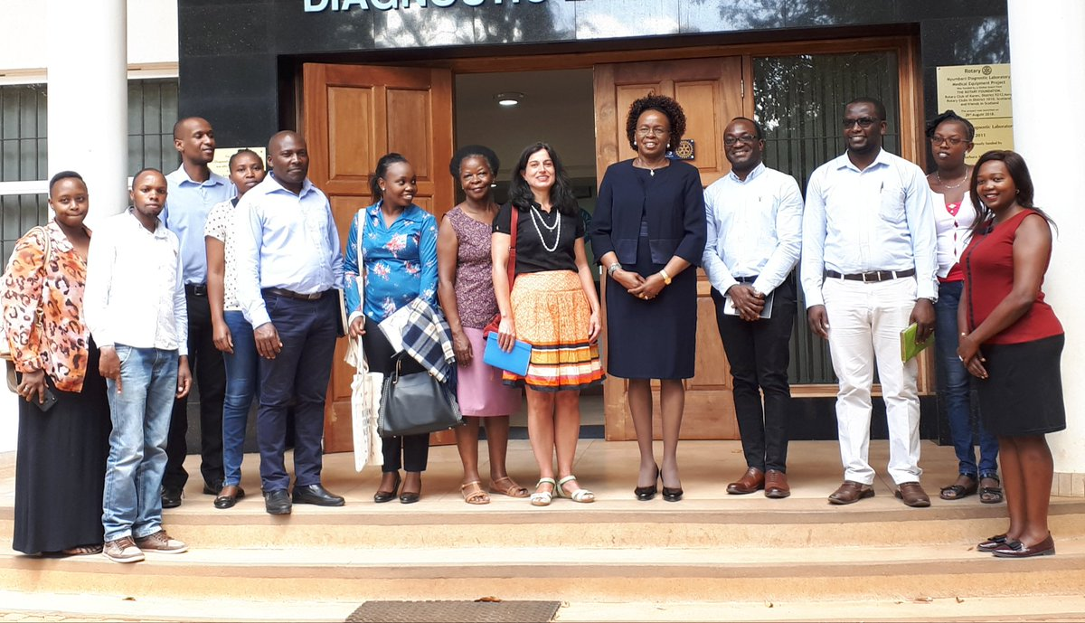 Congratulations to the amazing teams of @DNDi and @ndl_kenya Lea Toto Nyumbani, for the promising results in the @UNITAID experimentation for a paediatric formula for treating HIV, to save more children's lives.France is proud to be involved @FranceinKenya