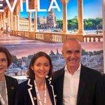 Image for the Tweet beginning: Sevilla se promociona en la