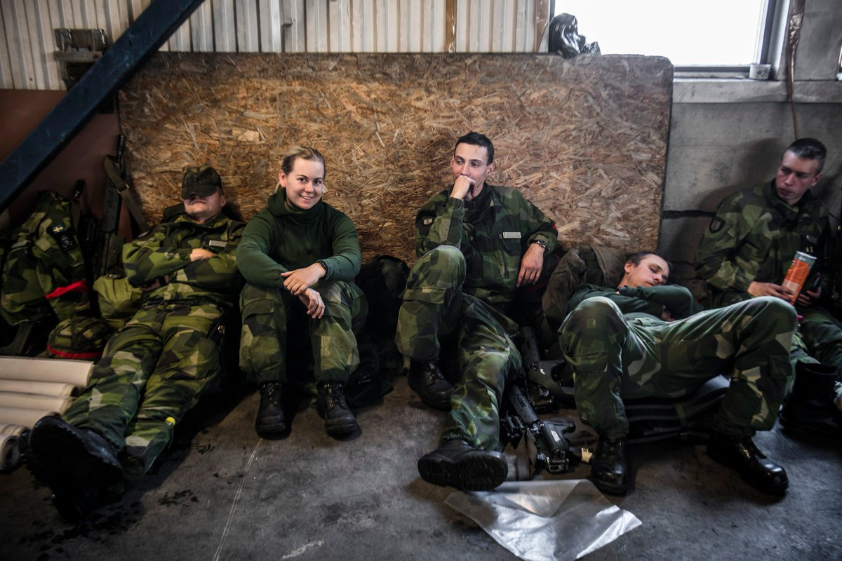 lediga jobb försvarsmakten redan anställd