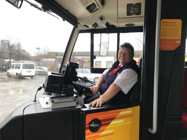 🌞 Good morning! It's International Women's Day, and today we're taking time to celebrate the achievements of the women who work here at Rosso. Tracy has been with us for 7 years, and she's a familiar face to those making #Trax around Bury and Rochdale! #IWD2019 @womensday