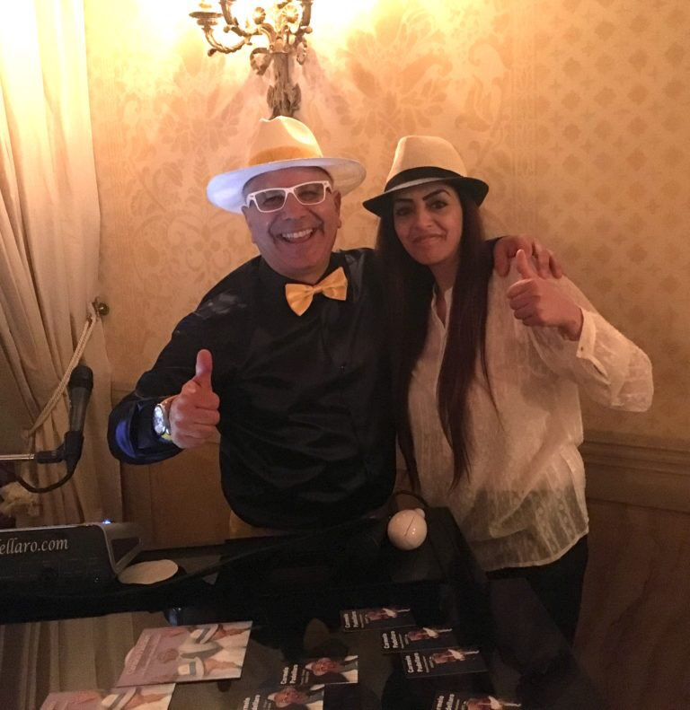 Thanks to Carmelo for giving me the privilege to give me emotions of fun and beautiful music during my holidays in Belmond Hotel Caruso.Ti send photos made to tell you that we will see each other again this year and we will be a nice group !!!!!!! #weddingmusic #carmelopadellaro