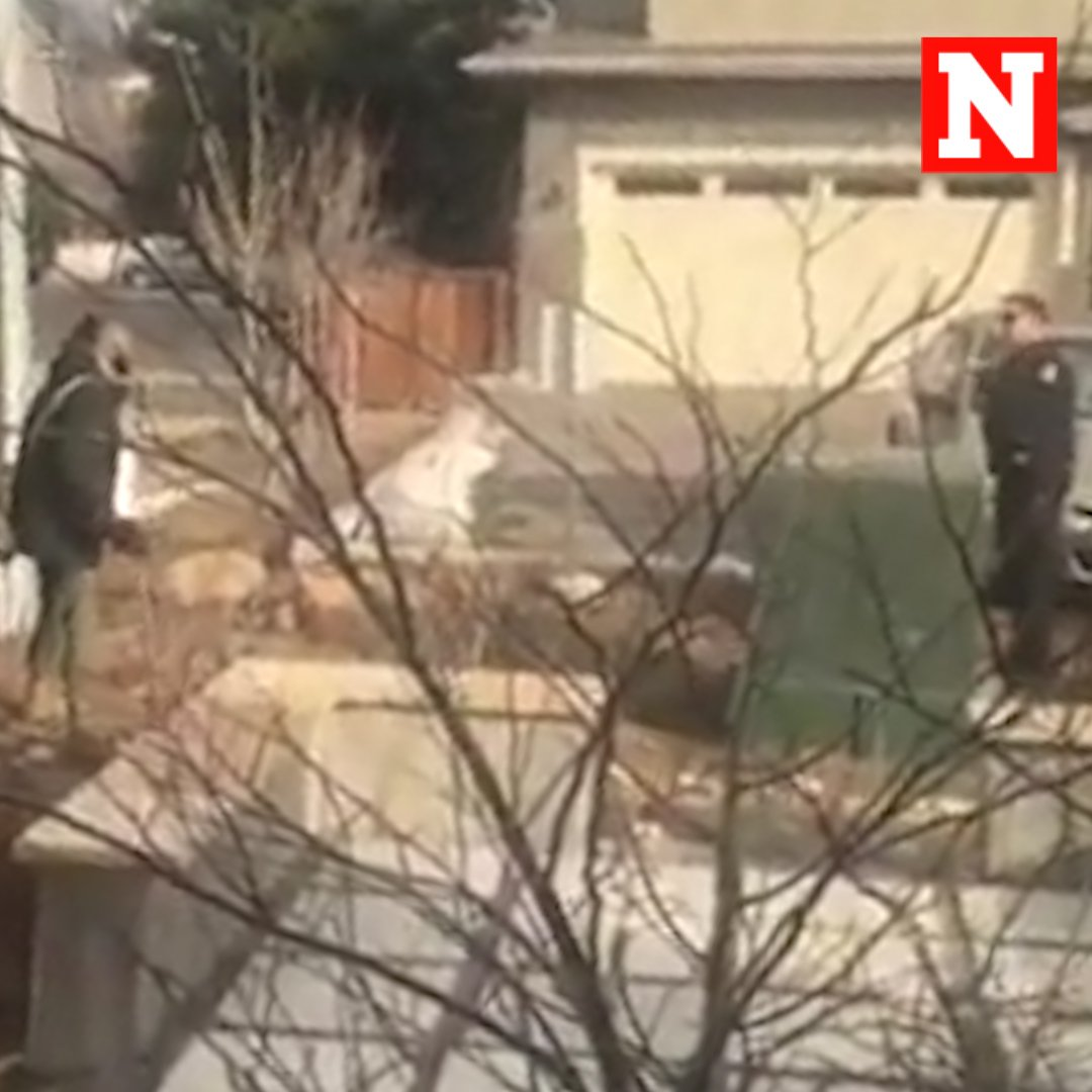 """Watch: A viral video showing Colorado police officers confronting a black man who said he was simply picking up trash outside his home has sparked outrage: """"You're going to shoot me."""" https://t.co/UhSfQIUzca https://t.co/vB6IZIgINP"""