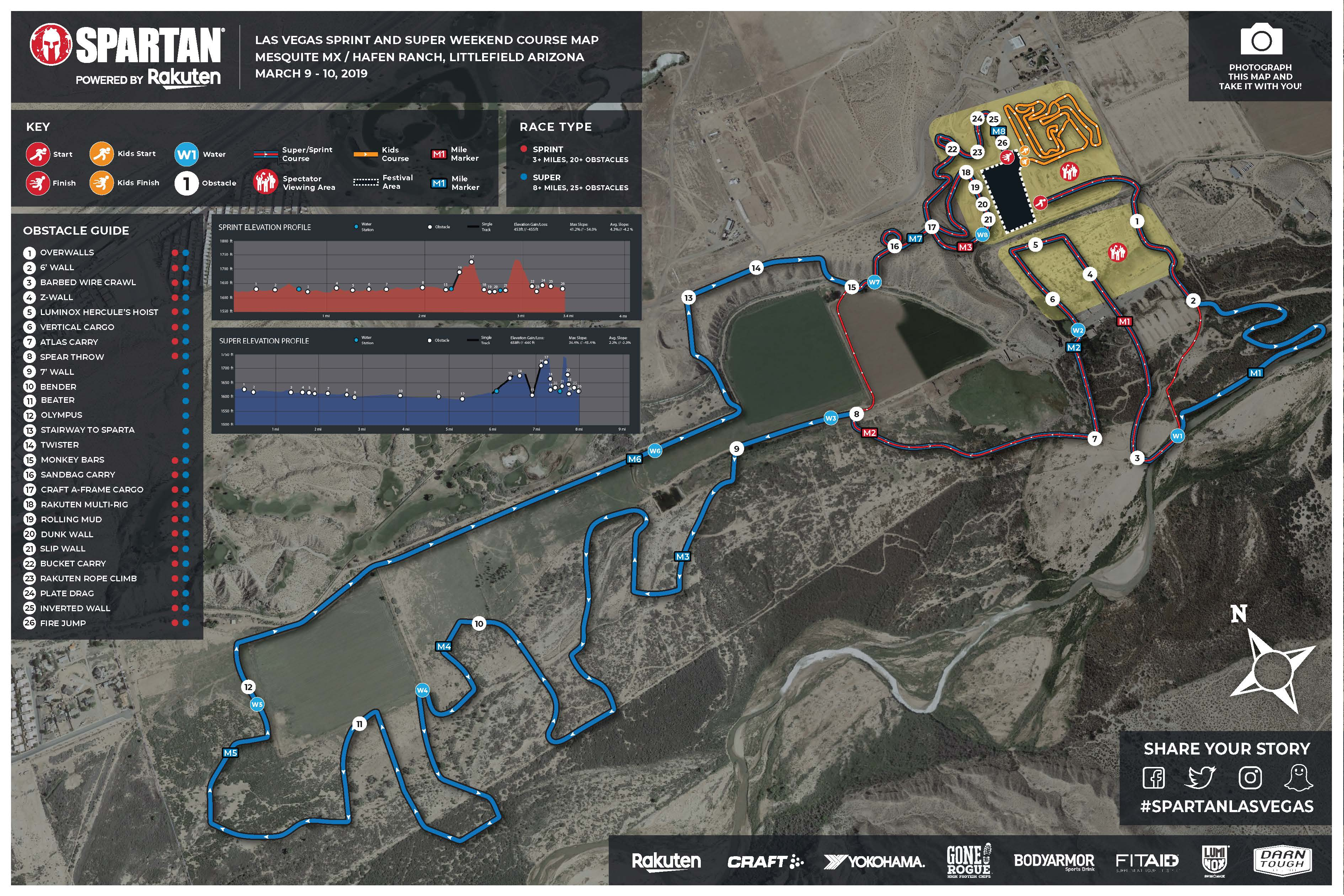 Spartan Race Las Vegas >> Vegas Sprint Super Map Spartanrace