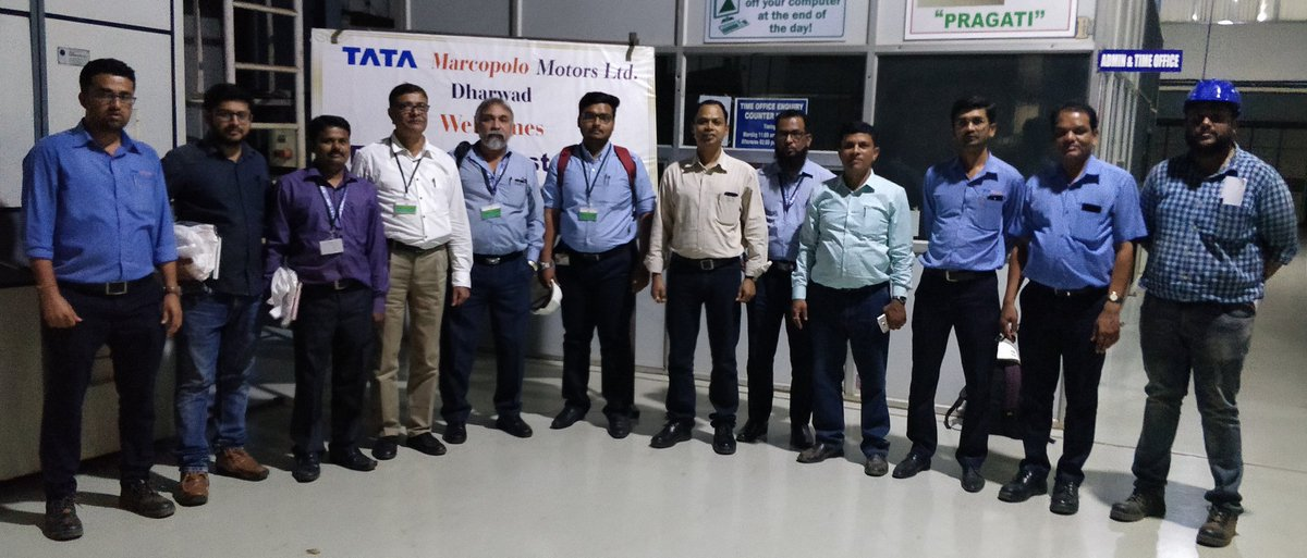 3rd party inspection of Aurangabad Smart City Bus has been carried out by Central Institute of Road Transport, Pune at Tata Marcopolo, Dharwad on 6, 7 March 2019.  Aurangabadkar's will have total 100 buses by April-2019 @commissionerau2 – at Tata Motors Factory