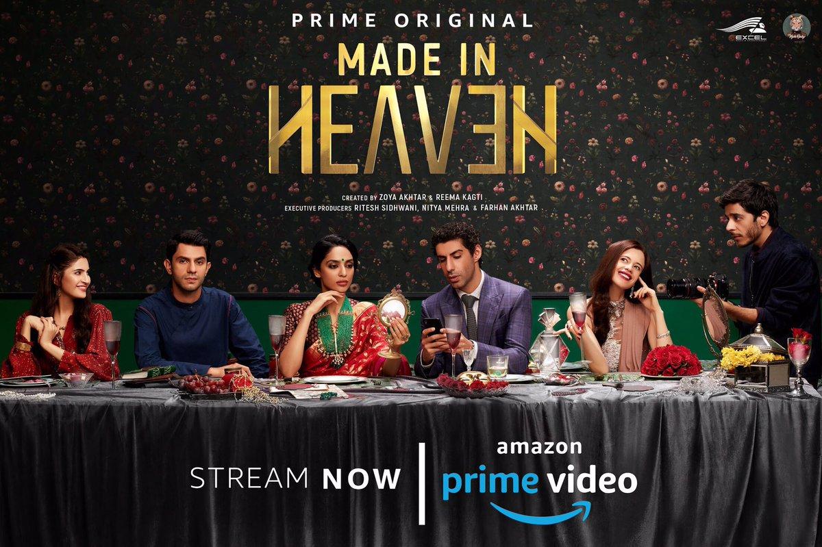 All that glitters... isn't gold. #MadeInHeaven  streaming now: http://amzn.to/MadeInHeavenTV  @madeinheaventv #ZoyaAkhtar @kagtireema @ritesh_sid @faroutakhtar @nitya_mehra @excelmovies @tigerbabyindia @alankrita601 #PrashantNair