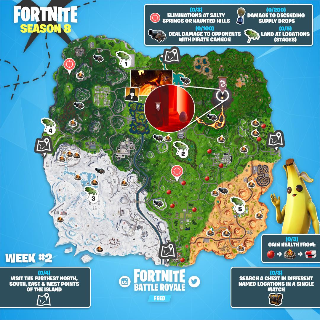 South East West And North Fortnite Fortnite News On Twitter Furthest North Is At The Top Left Of The Map Apologies