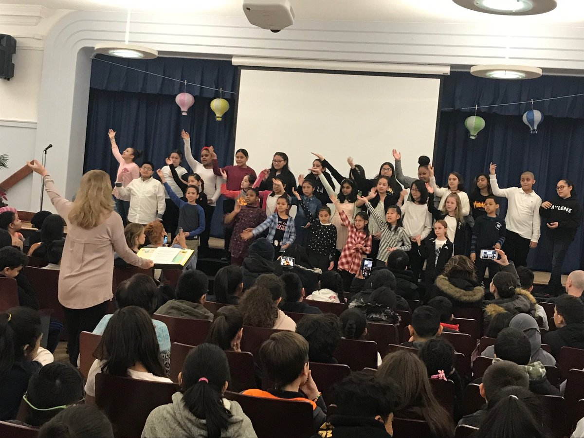 We are so proud of you! PS68 Chorus #ps68q