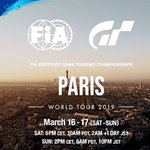 Image for the Tweet beginning: Paryż organizatorem certyfikowanych przez FIA