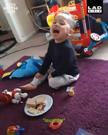 This video of a 2-year old mocking his dad's accent will definitely make your day