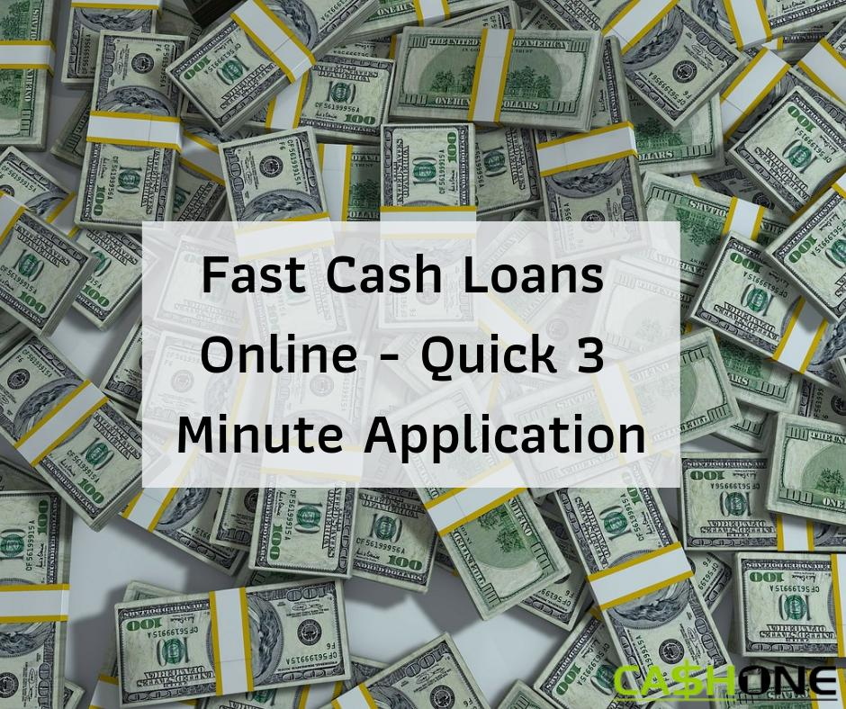 fast cash advance loans