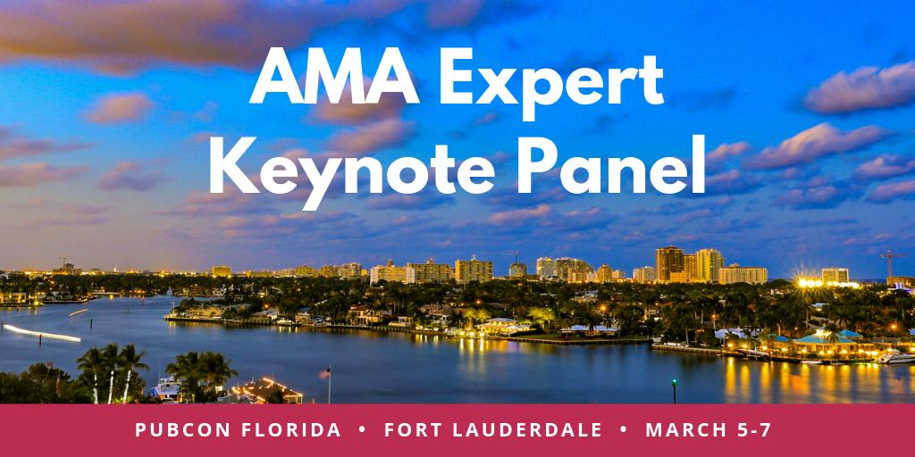 Our AMA Expert Keynote Panel starts at 4:05. Have your questions for @MelanieMitchell, @Rhea, @purnavirji, @Casieg, @SEOAware & @cshel ready!  Details: https://www.pubcon.com/sessions-florida-2019… #Florida
